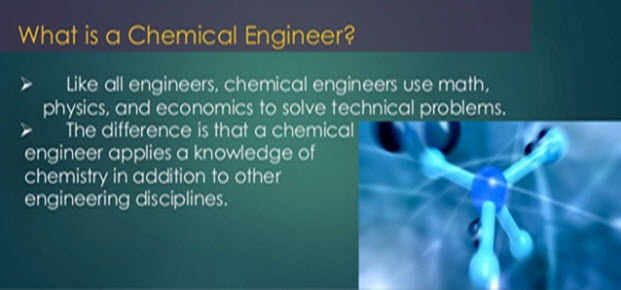 What is a Chemical Engineer?
